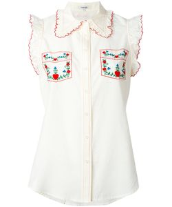 Manoush | Embroidered Trim Shirt Size 38
