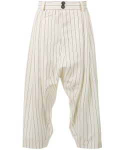 Vivienne Westwood | Cropped Drop-Crotch Trousers