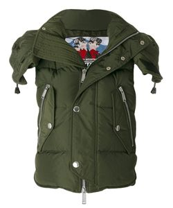 Dsquared2 | Куртка В Стиле Милитари С Капюшоном