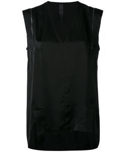 Ilaria Nistri   Zip Detail Shift Blouse Size 40