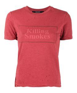 Ksubi | Killing Smokes Print T-Shirt Women