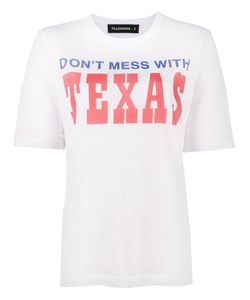 Filles A Papa | Texas Printed Distressed T-Shirt Women