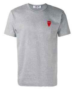 Comme des Gar ons Play | Comme Des Garçons Play Embroidered Logo T-Shirt Size Xl