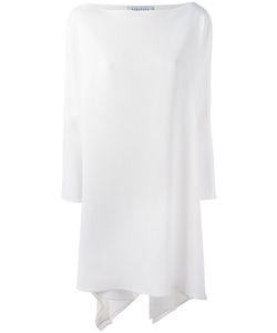 Gianluca Capannolo | Off Shoulder Dress 42 Viscose/Acetate