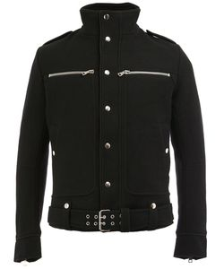Balmain | Standing Collar Buttoned Jacket