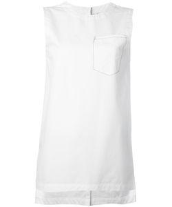 DKNY | Sleeveless Top With Front Pocket Size Medium