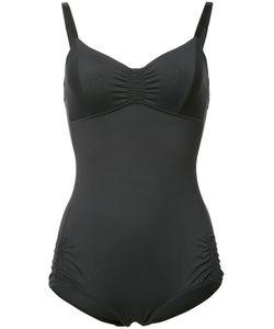 Malia Mills | Gathe Sides Swimsuit 14 Nylon/Spandex/Elastane