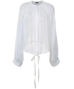 Ann Demeulemeester | Pleated Blouse Size 38