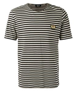 The Kooples   Striped Badge T-Shirt Large