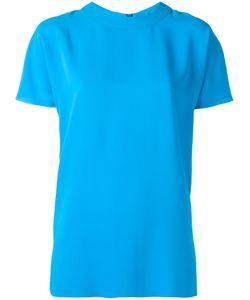 Cedric Charlier | Cédric Charlier Short Sleeve Blouse 42 Polyester