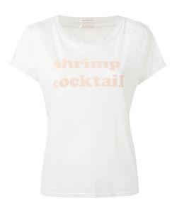 Mother | Shrimp Cocktail T-Shirt Size Medium