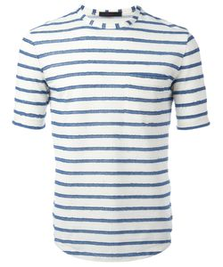 The GIGI | Striped T-Shirt Large Cotton