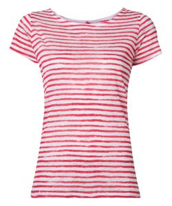 MAJESTIC FILATURES   Printed Stripe T-Shirt Size 2