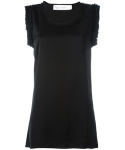 Victoria, Victoria Beckham | Victoria Victoria Beckham Ruffle-Edge Blouse Size 10