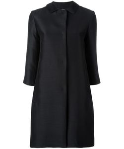 'S Max Mara | Three-Quarter Sleeve Coat 40 Silk/Virgin