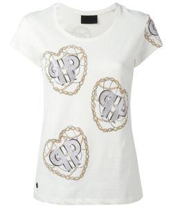 Philipp Plein | Chain Print T-Shirt Xs Cotton