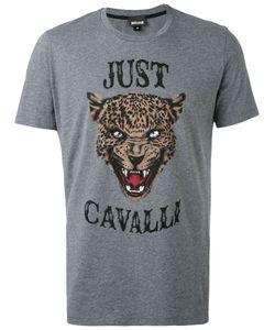 Just Cavalli | Футболка С Принтом Морды Льва