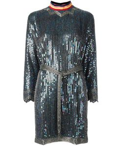 Diesel | Sequin Embellished Dress Small Polyester/Glass/Plastic