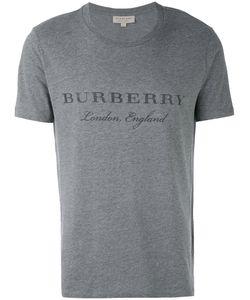 Burberry | Футболка С Принтом Логотипа
