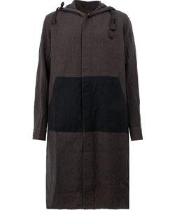 ZIGGY CHEN | Однобортное Пальто С Капюшоном