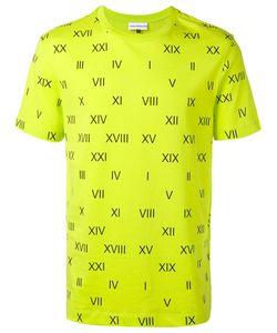 GOSHA RUBCHINSKIY | Roman Numerals T-Shirt Medium Cotton