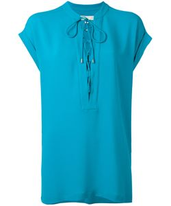 Michael Michael Kors | Neck-Tie Blouse Size Medium