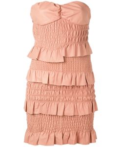 Drome | Ruched And Ruffled Dress