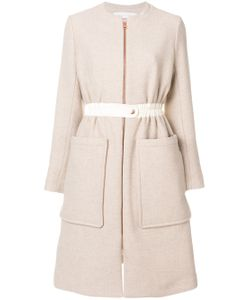 See By Chloe | Zipped Collarless Coat