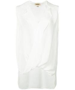 L'Agence | Блузка С V-Образным Вырезом