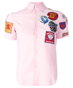 Dsquared2 | Patch Short Sleeved Shirt 44 Cotton