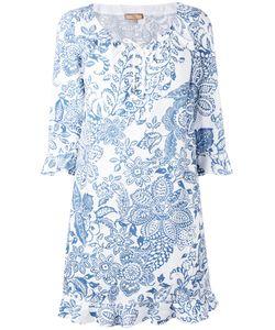 Fay | Print Dress Large Cotton