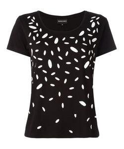 Emporio Armani | Contrast Print T-Shirt 44 Cotton/Modal