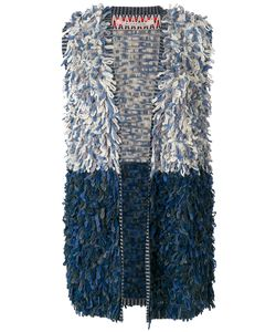 Miahatami   Striped Detail Knitted Gilet