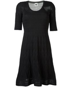 Missoni | M Textured-Knit Flounce Dress