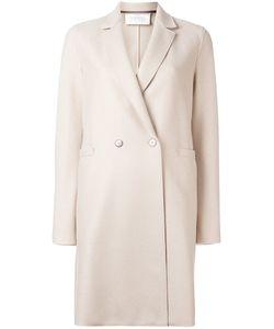 Harris Wharf London | Double Breasted Coat 42 Wool
