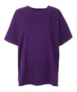 MM6 by Maison Margiela | Cut-Out Detail T-Shirt Women