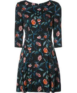 Suno | Print Fla Dress 2 Silk/Spandex/Elastane