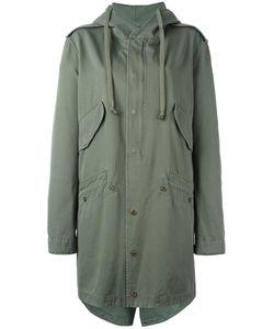 Faith Connexion | Hooded Mid Coat Small Cotton
