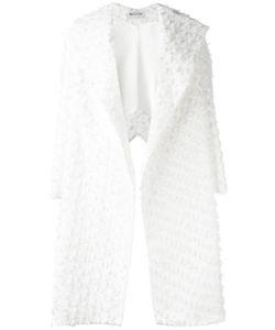MATICEVSKI | Oversized Lapel Textu Coat 8 Rayon/Nylon/Polyester/Silk