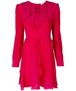 Red Valentino | Long-Sleeved Ruffle Dress
