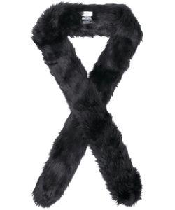 STAND | Long Faux Fur Scarf Women