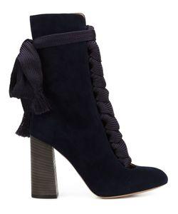 Chloe | Ботинки На Шнуровке
