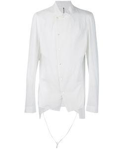 Masnada | Рубашка С Необработанными Краями