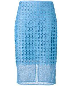Diane Von Furstenberg | Embroidered Pencil Skirt