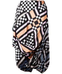 Vivienne Westwood Anglomania | Multi-Print Draped Skirt