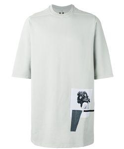RICK OWENS DRKSHDW | Patch Detail T-Shirt