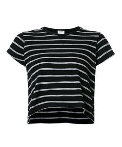 Re/Done | Striped Boxy T-Shirt Small Cotton/Polyester