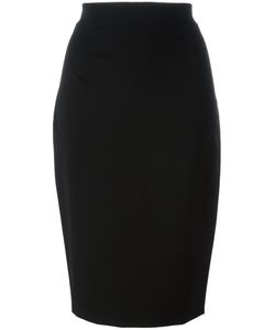 Plein Sud Jeanius | Plain Fitted Skirt 40