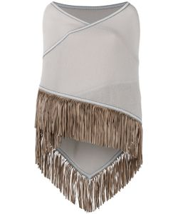 ANTONIA ZANDER | Fringed Trim Cape