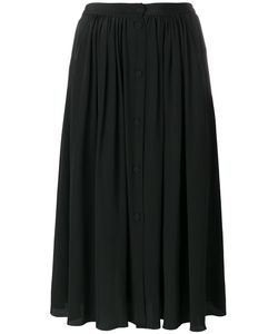 Forte Forte | Buttoned Midi Skirt 1 Silk/Cupro